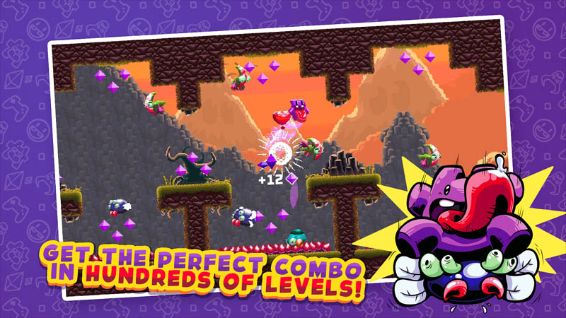 Super Mombo Quest - Get the perfect combo in hundreds of level