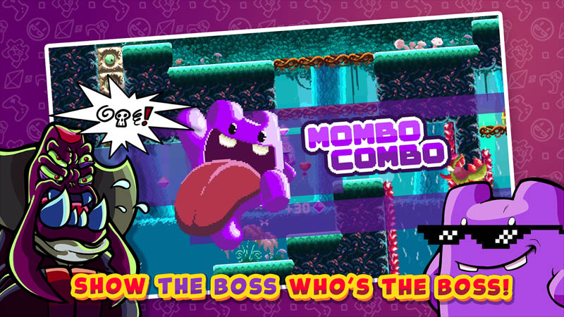 Super Mombo Quest - Show the boss who s the boss